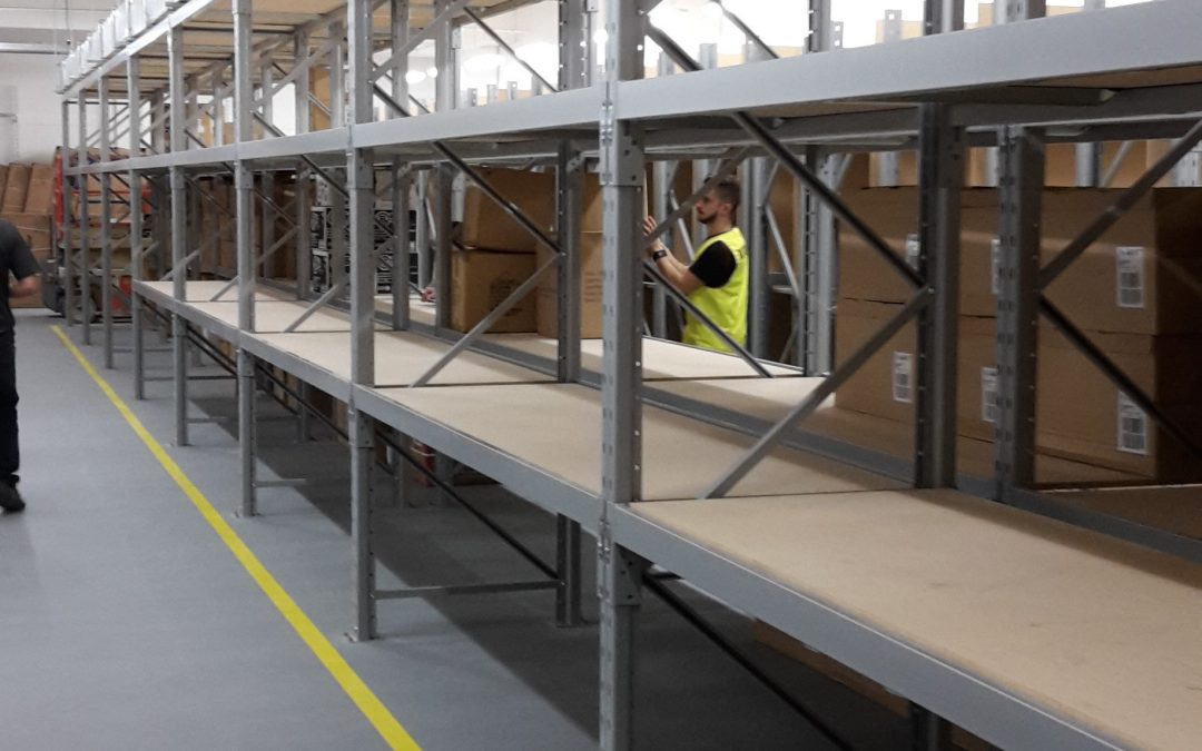 New BOH Stock Room For Amart Sports