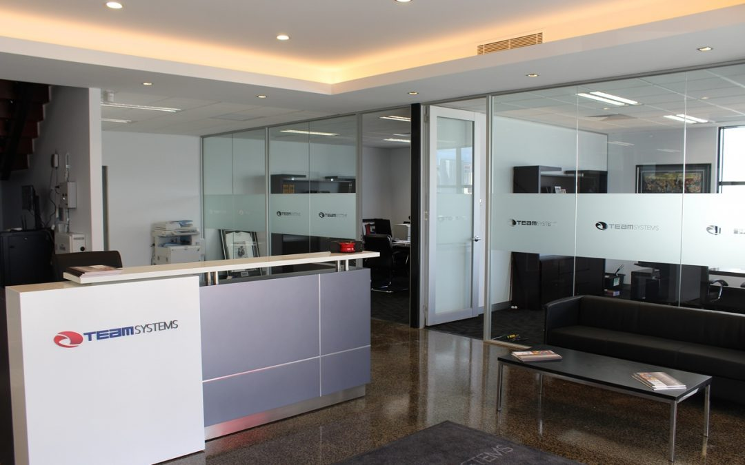 Reception Area at Team Systems New Location