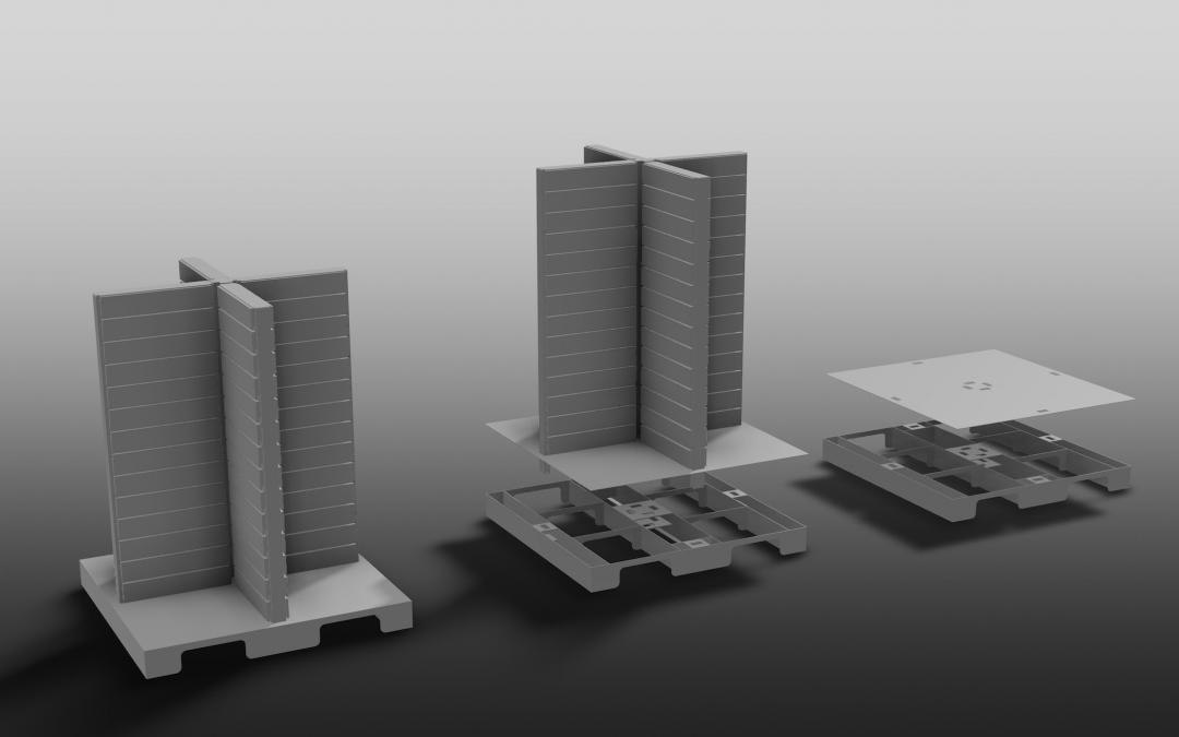 3D Renders: Visualising Storage Solutions