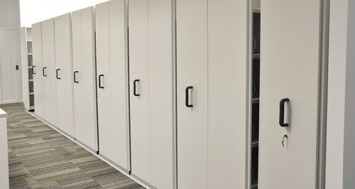 Reduce Your Storage Footprint With Mobile Shelving