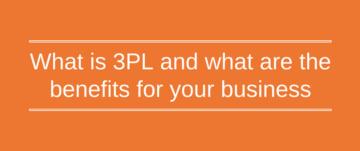 3PL - third party logistics