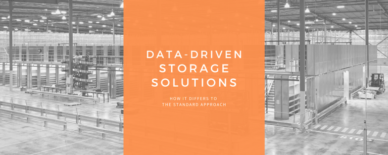 Data-driven storage solutions – how it differs to the standard approach.